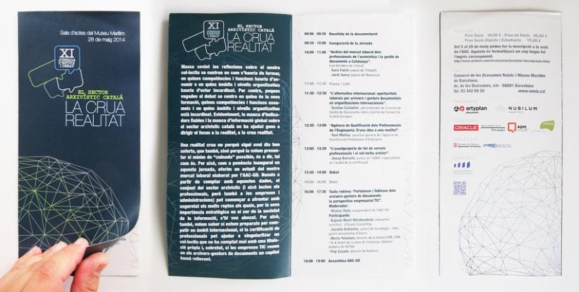 XI Jornades d'Estudi i debat - El sector arxivístic català: La crua realitat AAC-GD 0