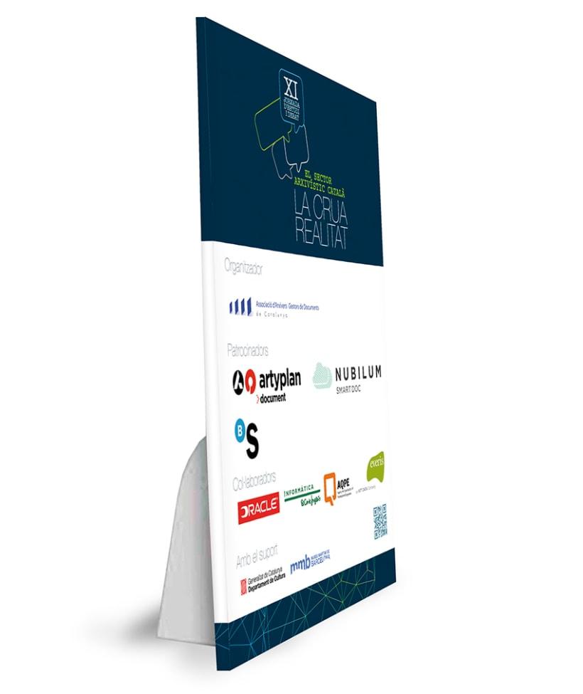 XI Jornades d'Estudi i debat - El sector arxivístic català: La crua realitat AAC-GD 4