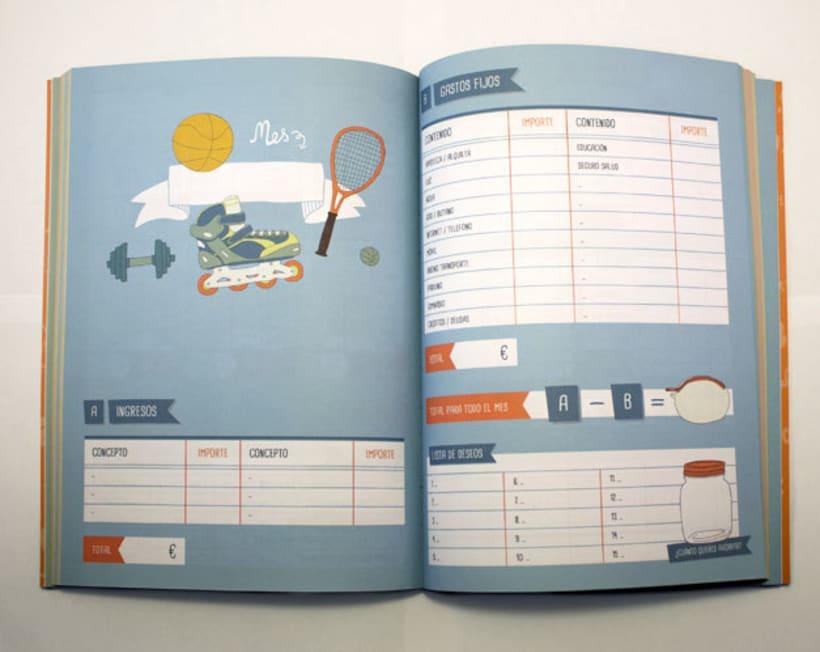 Agenda para el ahorro doméstico: Kakebo 1
