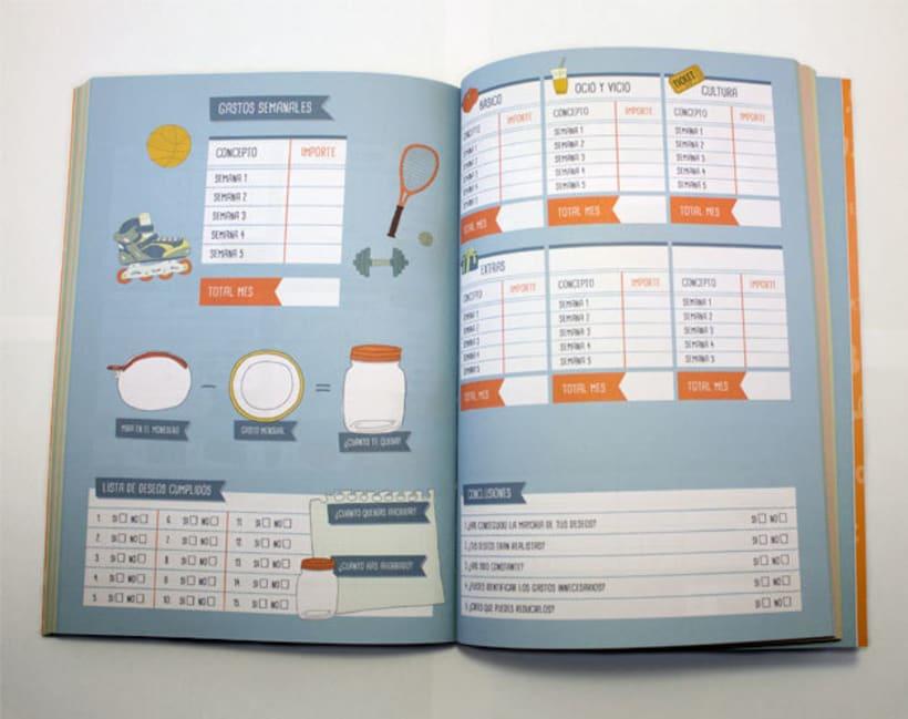 Agenda para el ahorro doméstico: Kakebo 3