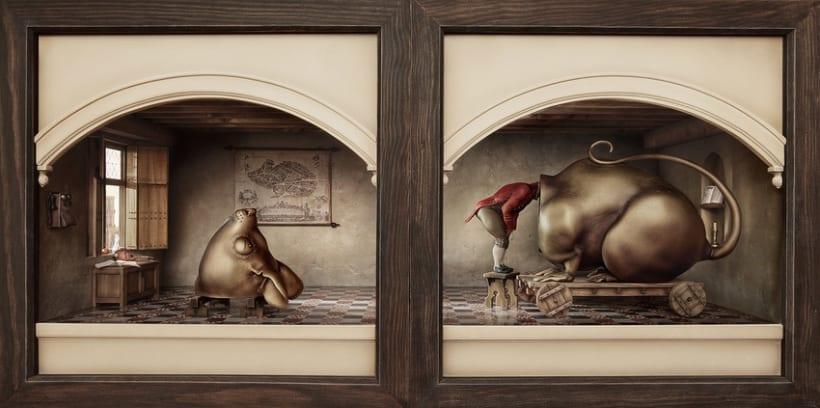 """Hamsterdam"" El diorama 1"