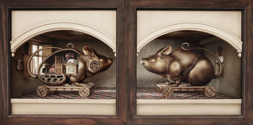 """Hamsterdam"" El diorama 2"