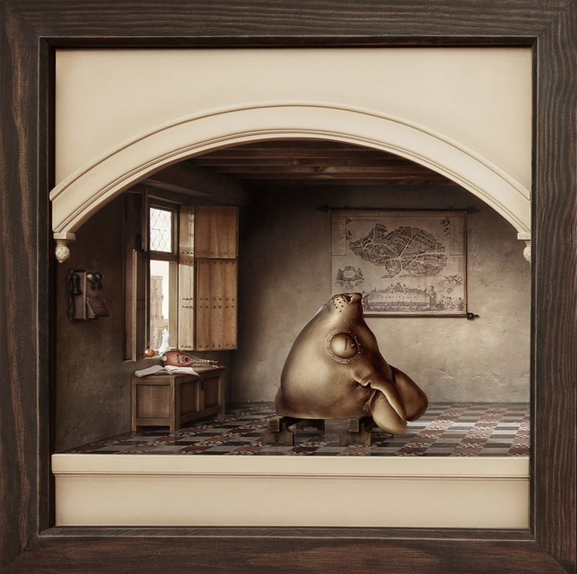 """Hamsterdam"" El diorama 4"