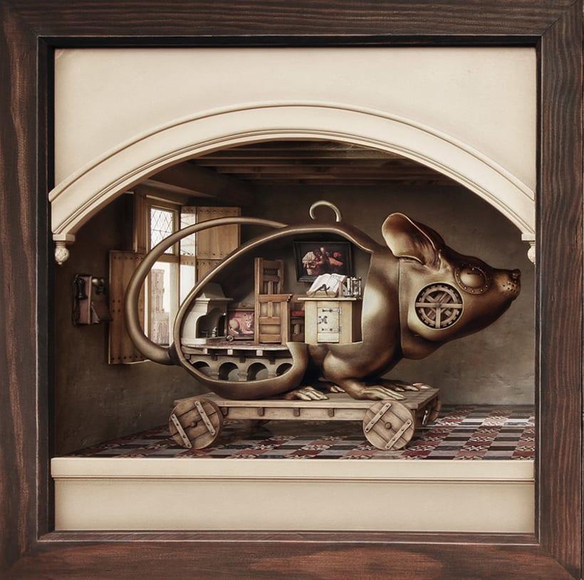 """Hamsterdam"" El diorama 5"
