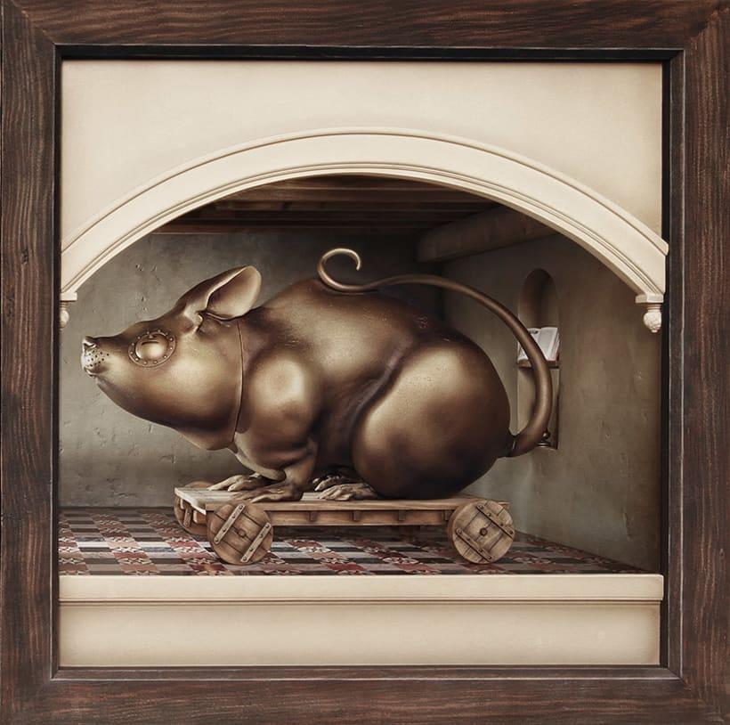 """Hamsterdam"" El diorama 6"