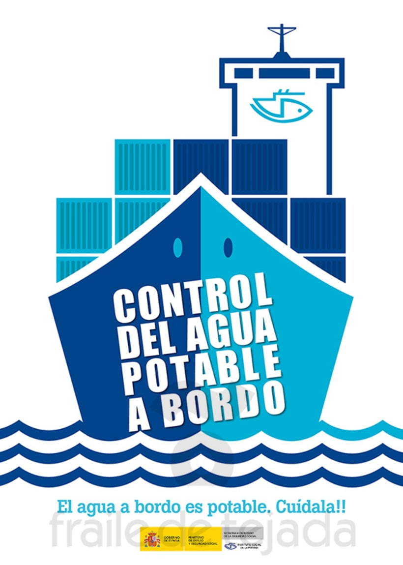 Control del agua potable a bordo > Campaña para el ISM 2