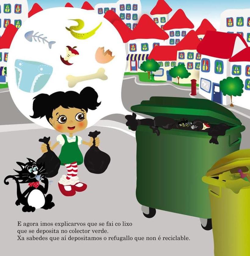 Ilustr. videocuento  concienciación medioambiental, I ciclo de primaria 1