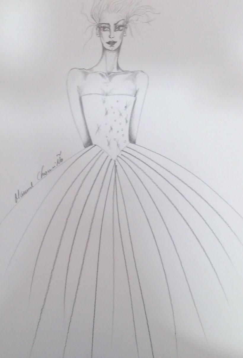 Diseños de moda a lápiz 5