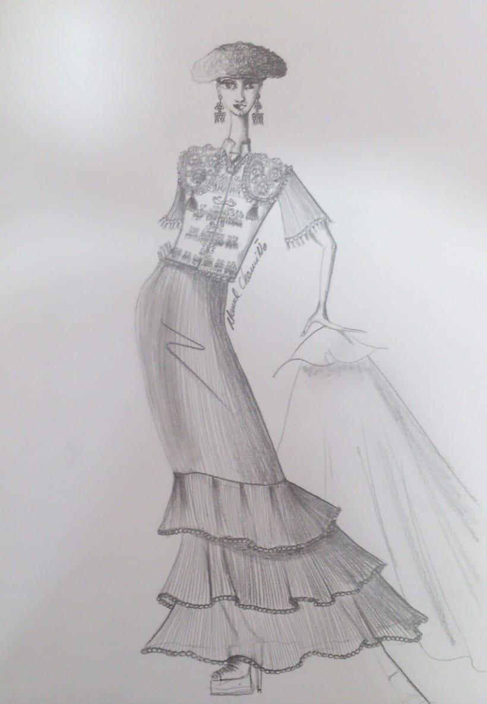 Diseños de moda a lápiz 6