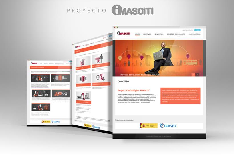 Web Proyectos I+D GOWEX 3