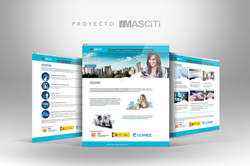 Web Proyectos I+D GOWEX 4