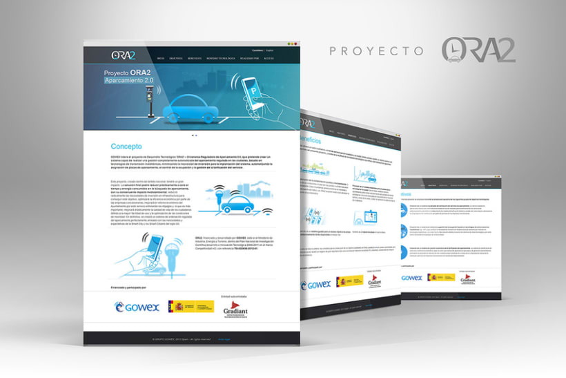 Web Proyectos I+D GOWEX 5