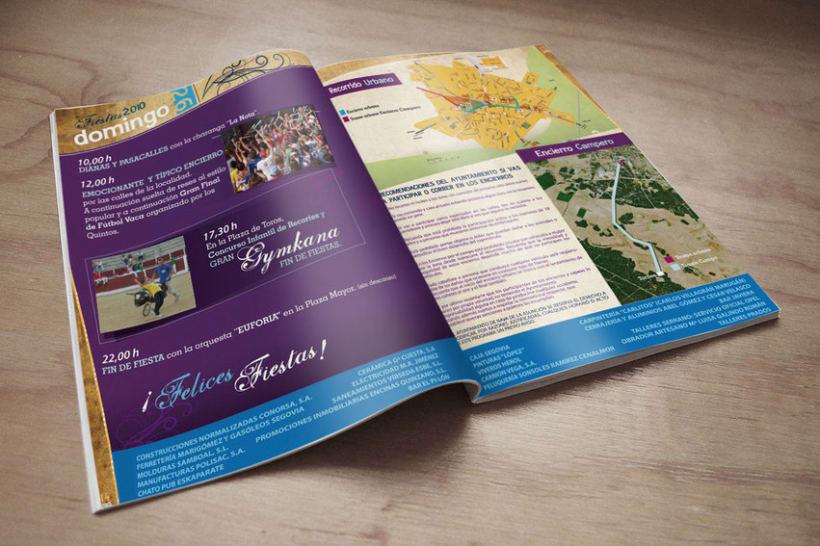 Cartel y programa oficial Fiestas 2010 3