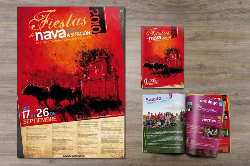 Cartel y programa oficial Fiestas 2010 2