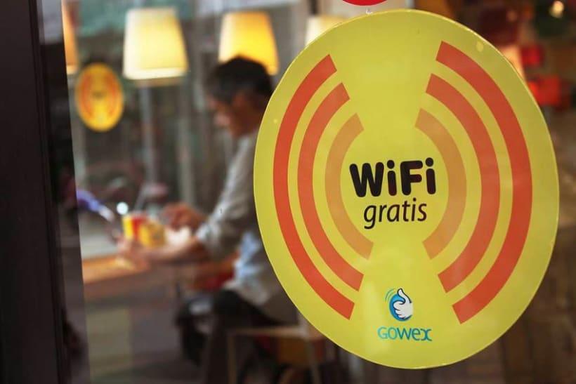 Señalización WiFi PANS & COMPANY 2