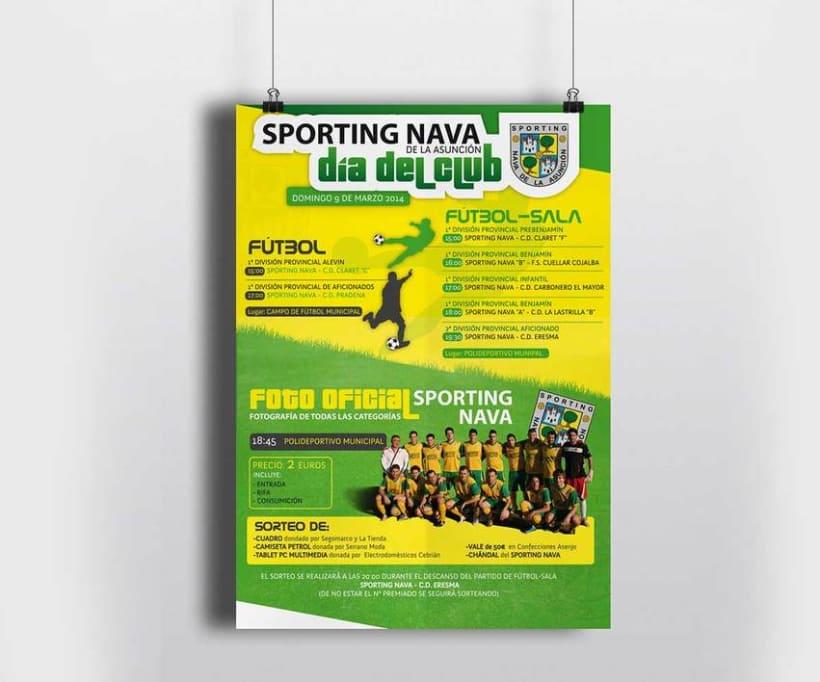 Cartelería SPORTING NAVA 3
