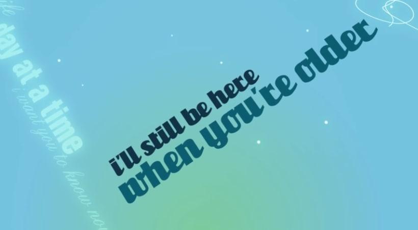 'When you're older' by Jenny Mayhem. Video-lyrics. 4