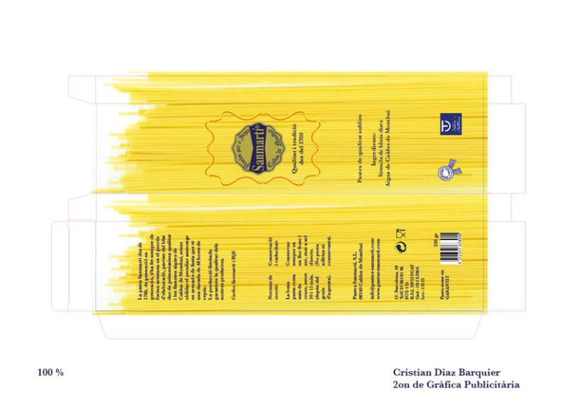 Packaging Pastes SanMartí 1