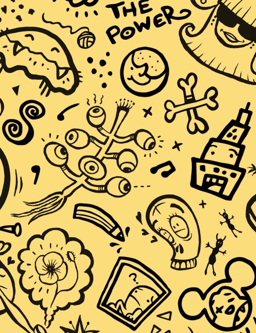 """Crazy Pop II"" Pattern Design 2"