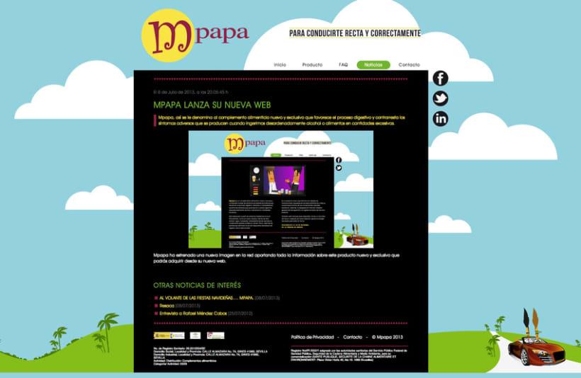Proyecto web Mpapa: diseño y maquetación web 3