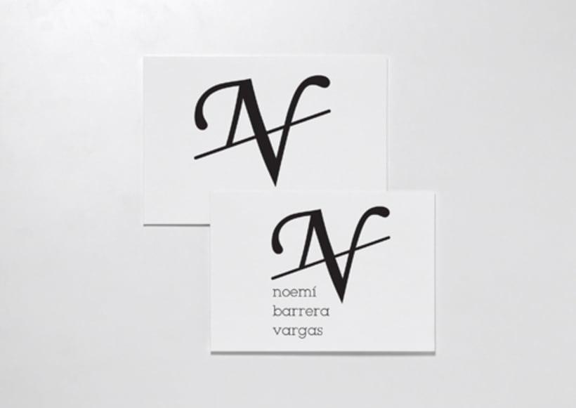 Branding para Noemí Barrera Vargas 1