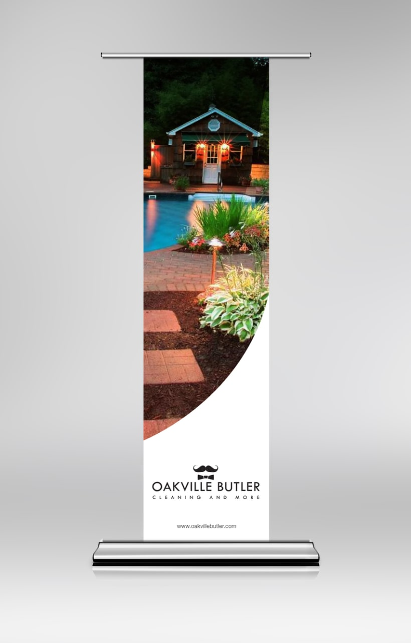 Oakville Butler Exhibition Banner Design 1