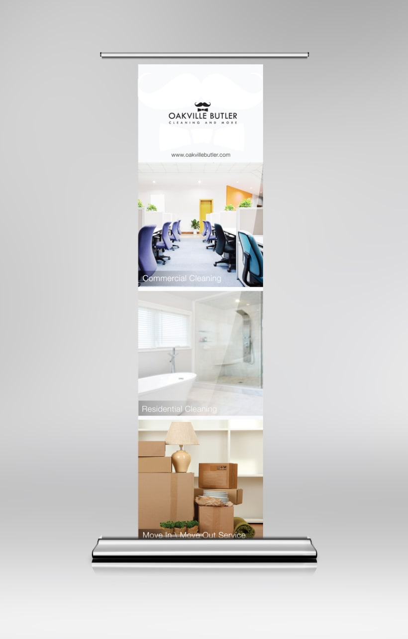 Oakville Butler Exhibition Banner Design 4
