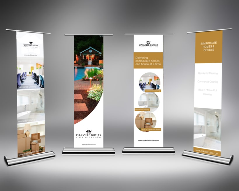 Oakville Butler Exhibition Banner Design 0