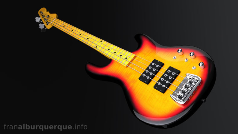 Electric bass guitar // Bajo eléctrico 0