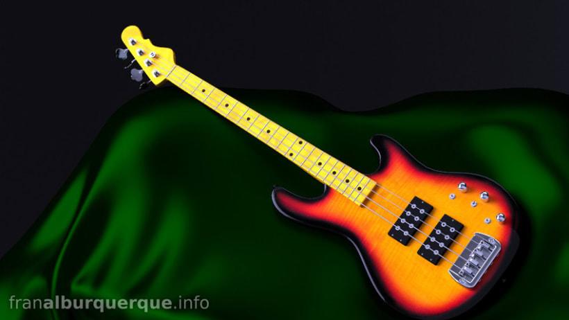 Electric bass guitar // Bajo eléctrico 1