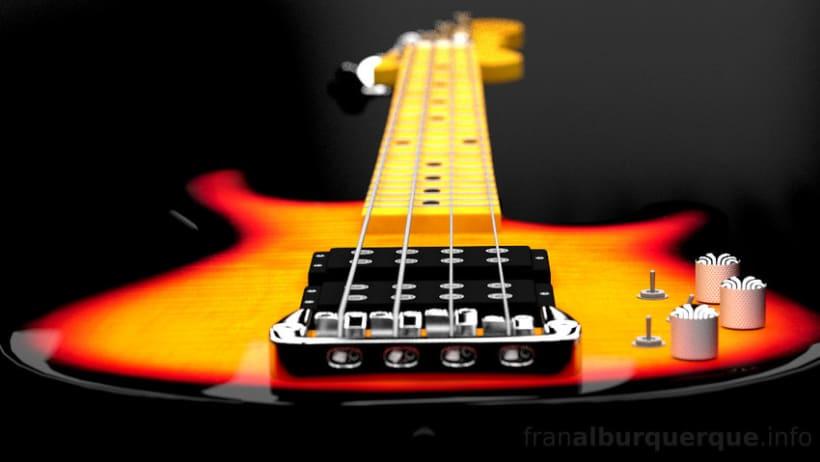 Electric bass guitar // Bajo eléctrico 2