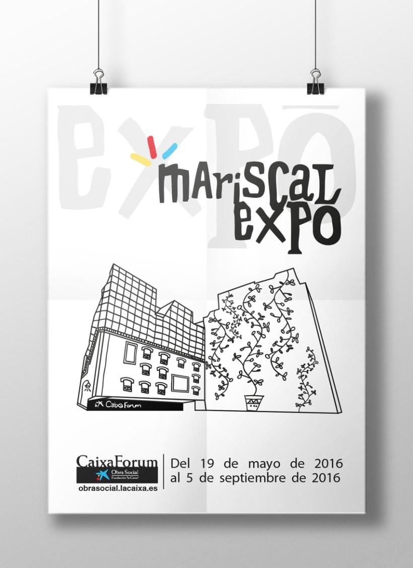 Cartel Caixa Forum (trabajo postgrado)Nuevo proyecto -1