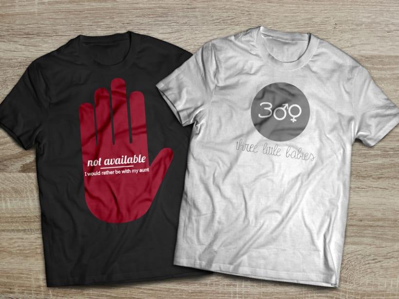 Camisetas para niños ThreeLittleBabies -1