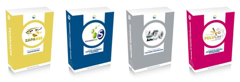 Packaging. Cajas para software personalizado. 0