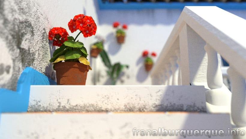 Andalusian-mediterranean courtyard // Patio andaluz-mediterráneo 1