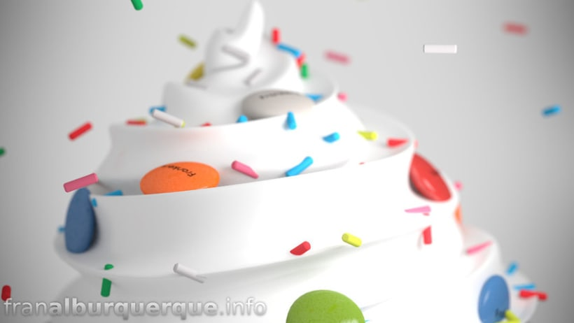 Yummy - frozen yogurt (fake brand commercial) // Yummy, anuncio de una falsa marca de yogurt helado 1