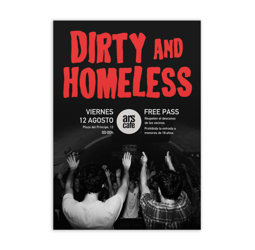 Posters Dirty and Homeless 3