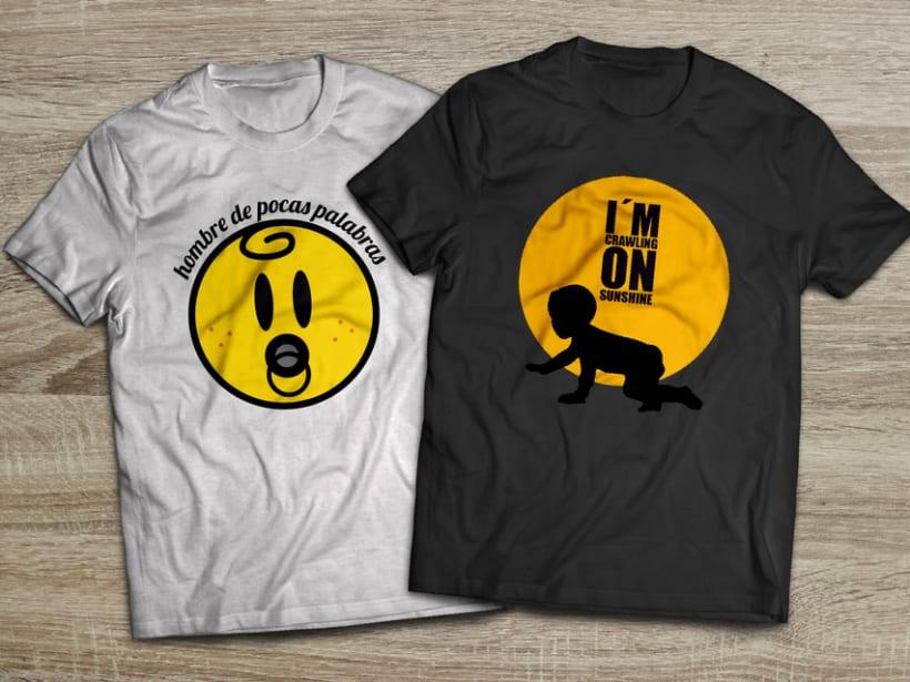Camisetas para niños ThreeLittleBabies 0