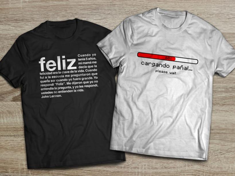 Camisetas para niños ThreeLittleBabies 1
