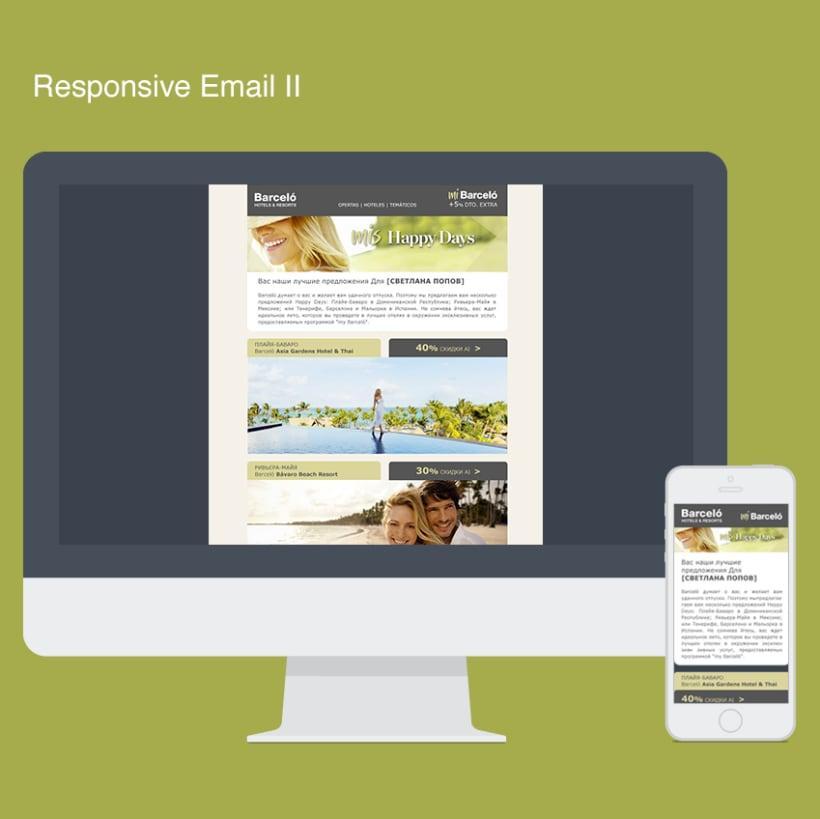 Rediseño Newsletters Barceló Hoteles 4
