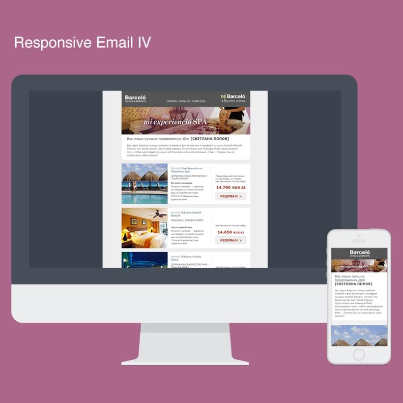 Rediseño Newsletters Barceló Hoteles 6