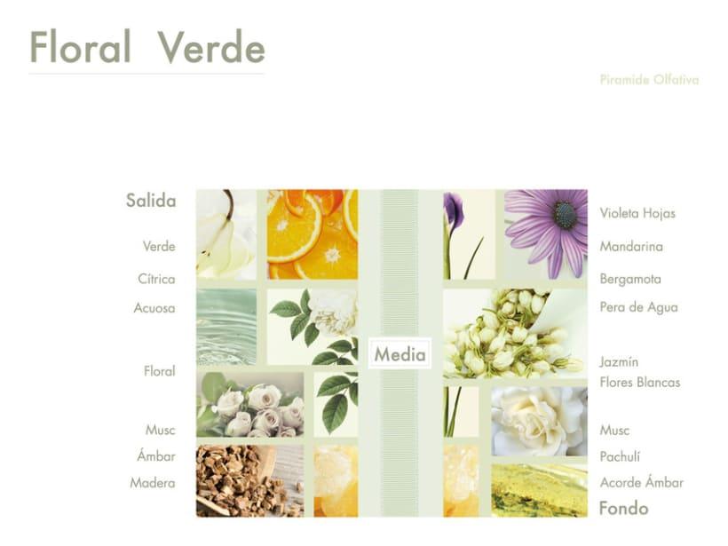Floral Verde  0