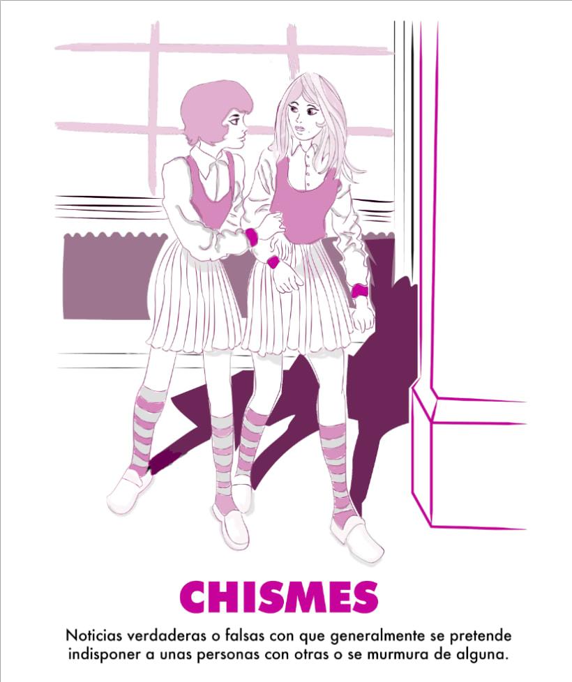 Palabra Ilustrada: Chismes -1