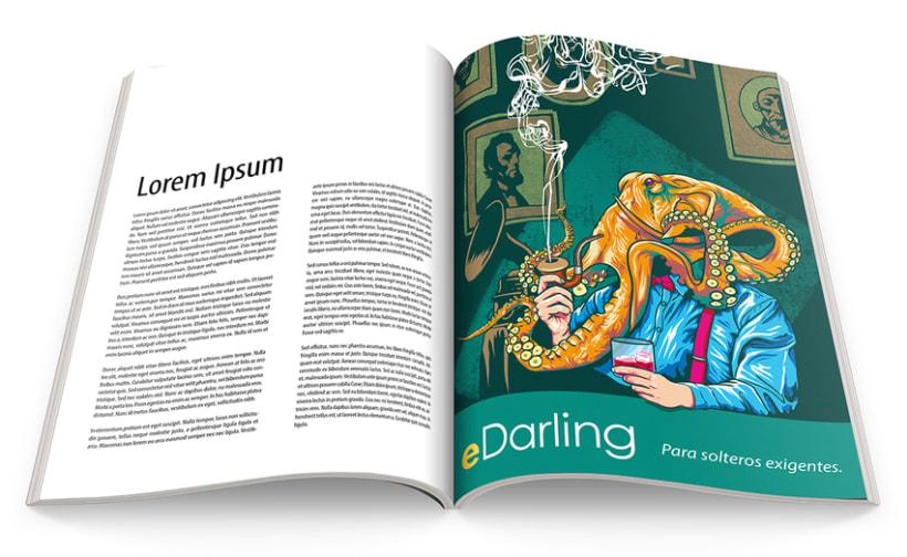 eDarling: Mi Proyecto del curso Ilustra con garra y vencerás 1