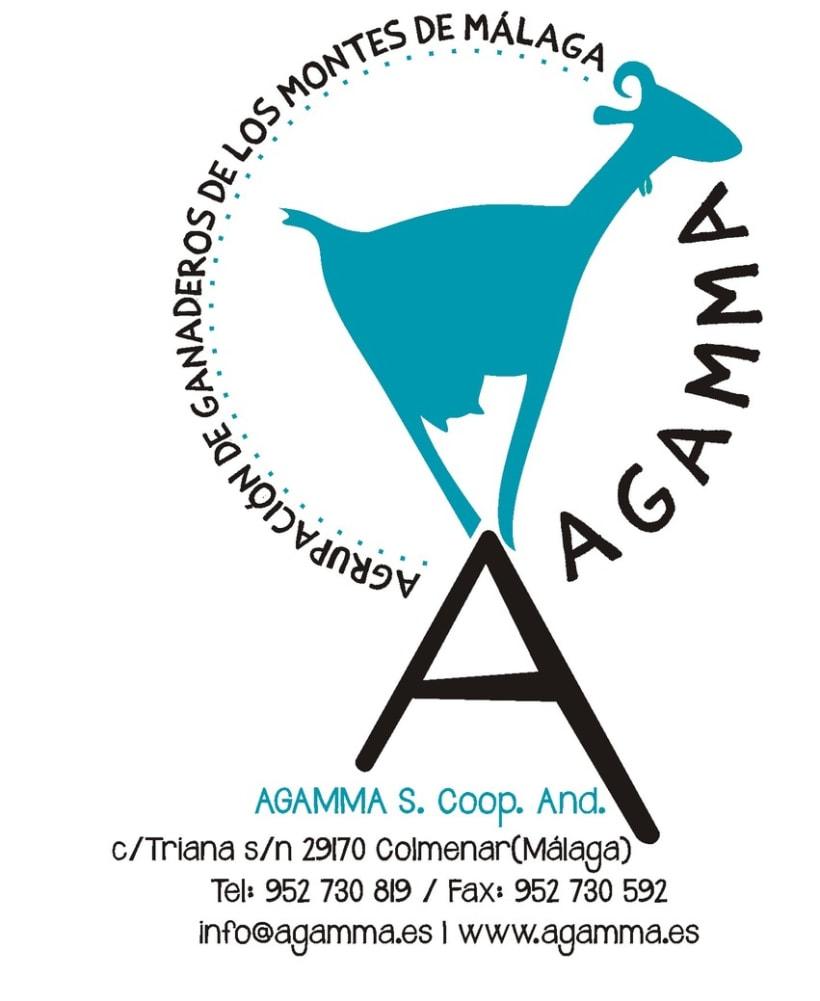 Imagen Corporativa AGAMMA (Quesos Montes de Málaga) 9