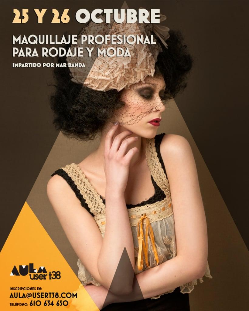 Curso de Maquillaje Profesional para Rodaje y Moda 0