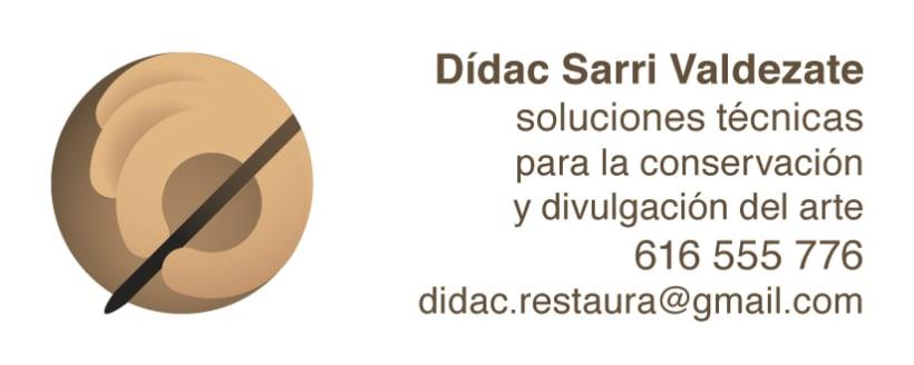 Dídac Sarri Valdezate | Restaurador -1