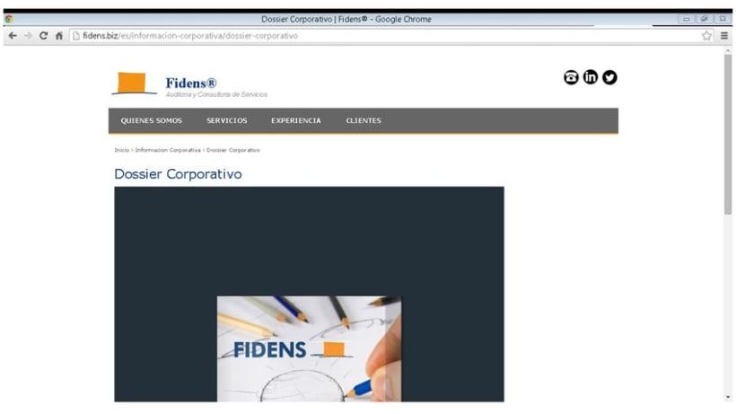 Dossier Corporativo Fidens SLU 0