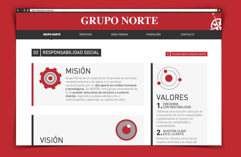 web Grupo Norte 0