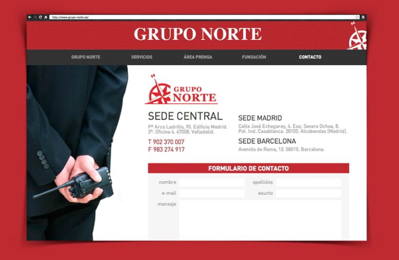 web Grupo Norte 1